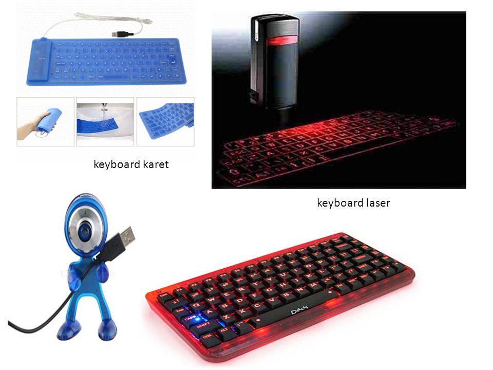 keyboard karet keyboard laser