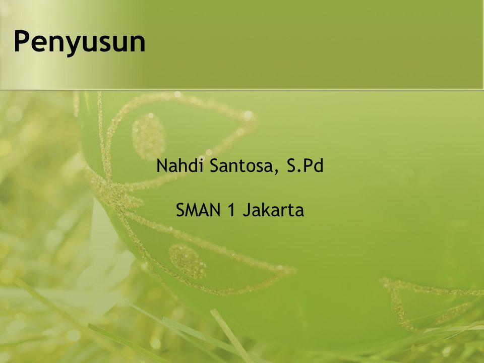 Nahdi Santosa, S.Pd SMAN 1 Jakarta