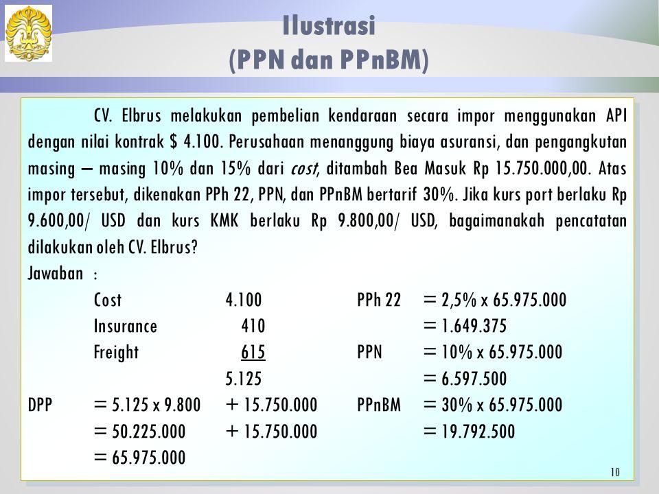 Ilustrasi (PPN dan PPnBM)