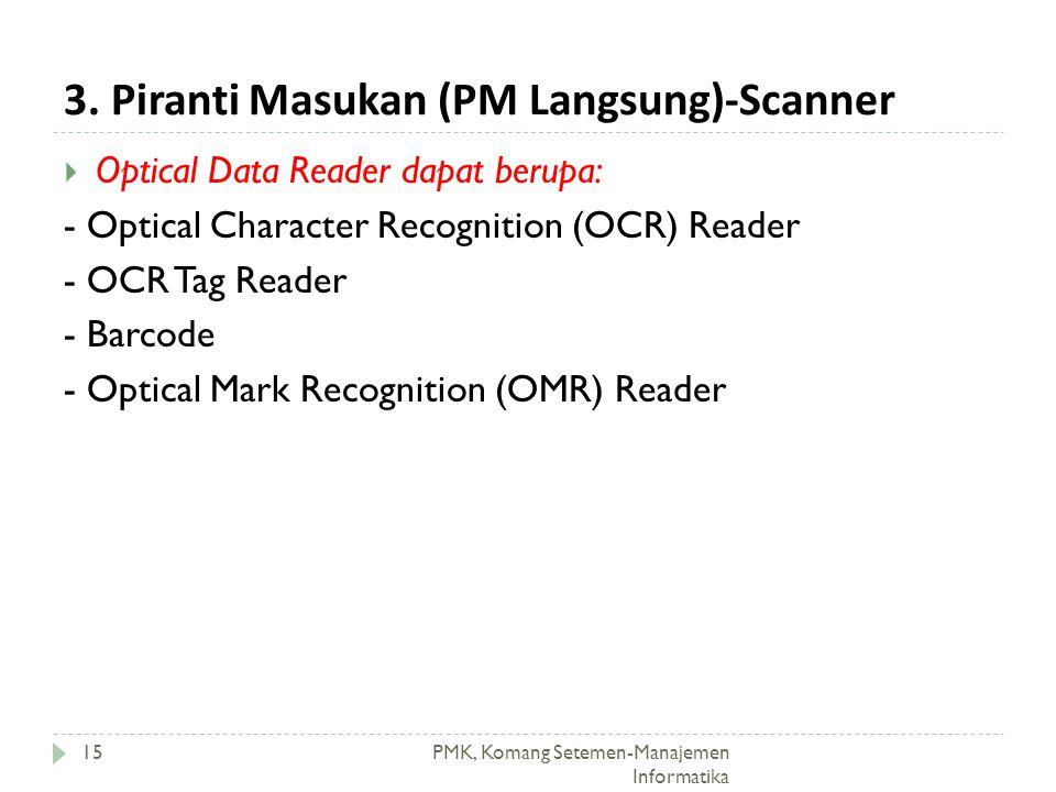 3. Piranti Masukan (PM Langsung)-Scanner