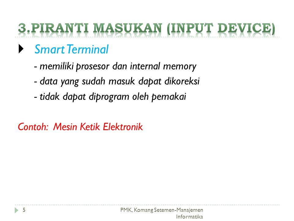 3.Piranti masukan (input device)