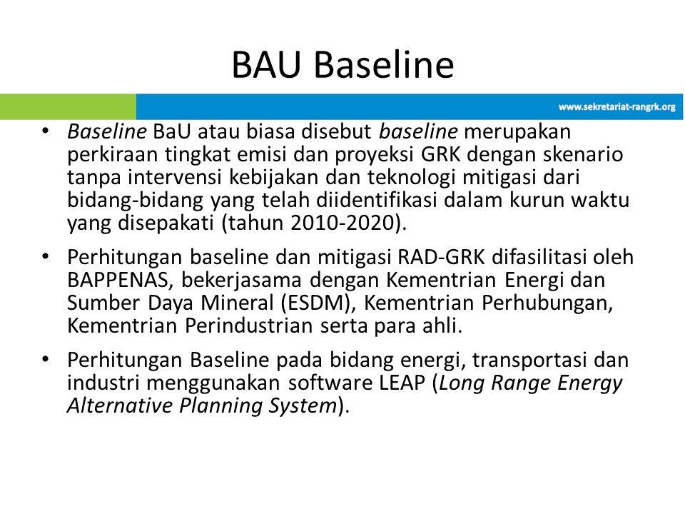 BAU Baseline