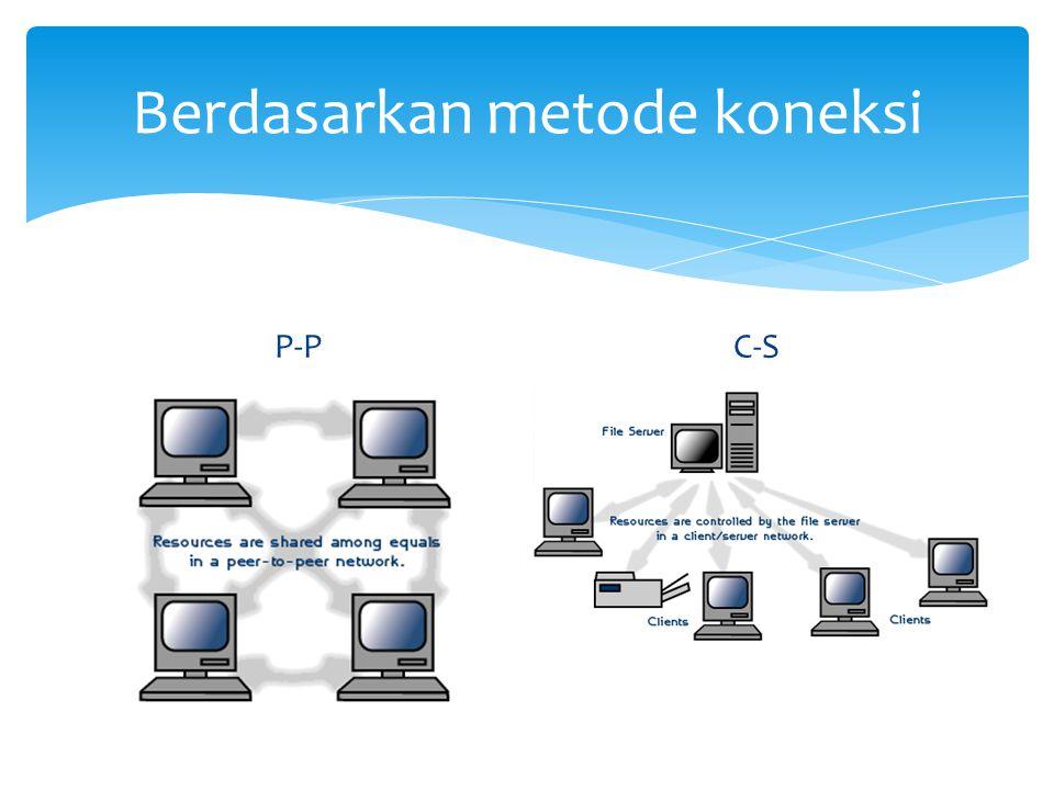 Berdasarkan metode koneksi