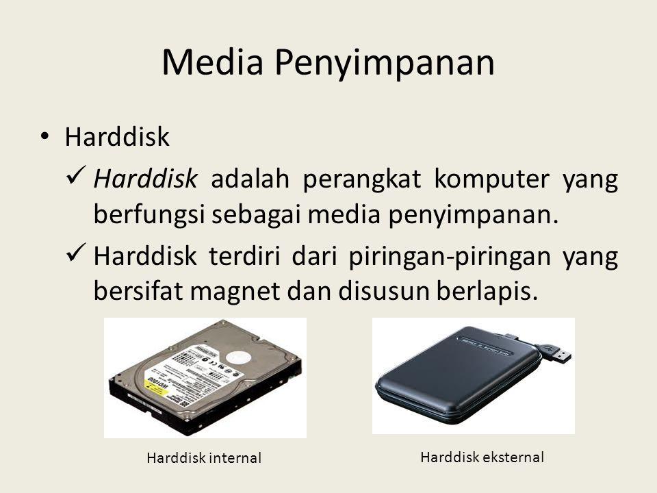 Media Penyimpanan Harddisk