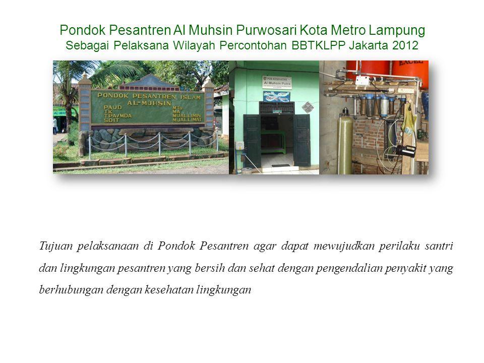 Pondok Pesantren Al Muhsin Purwosari Kota Metro Lampung