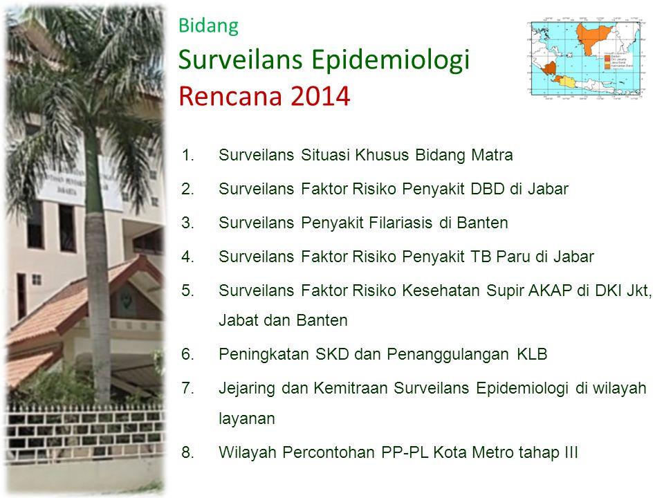 Surveilans Epidemiologi Rencana 2014
