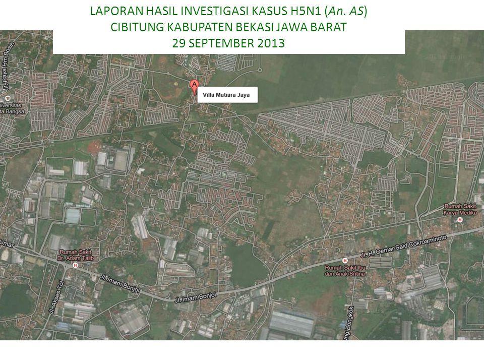 LAPORAN HASIL INVESTIGASI KASUS H5N1 (An. AS)