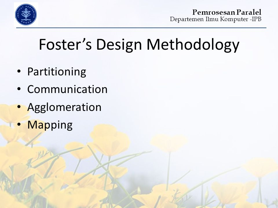 Foster's Design Methodology