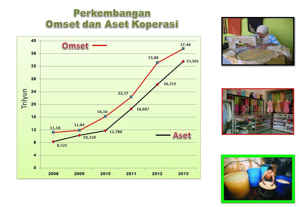 Omset dan Aset Koperasi