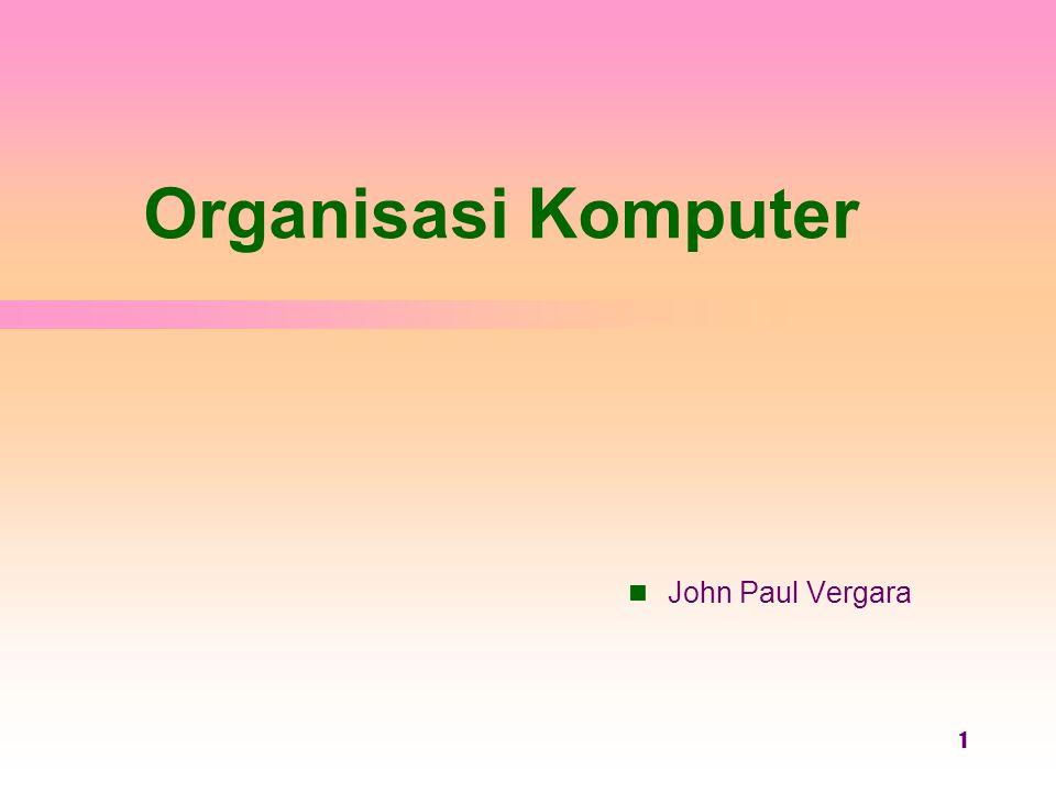Organisasi Komputer John Paul Vergara 1 Operating System Concepts