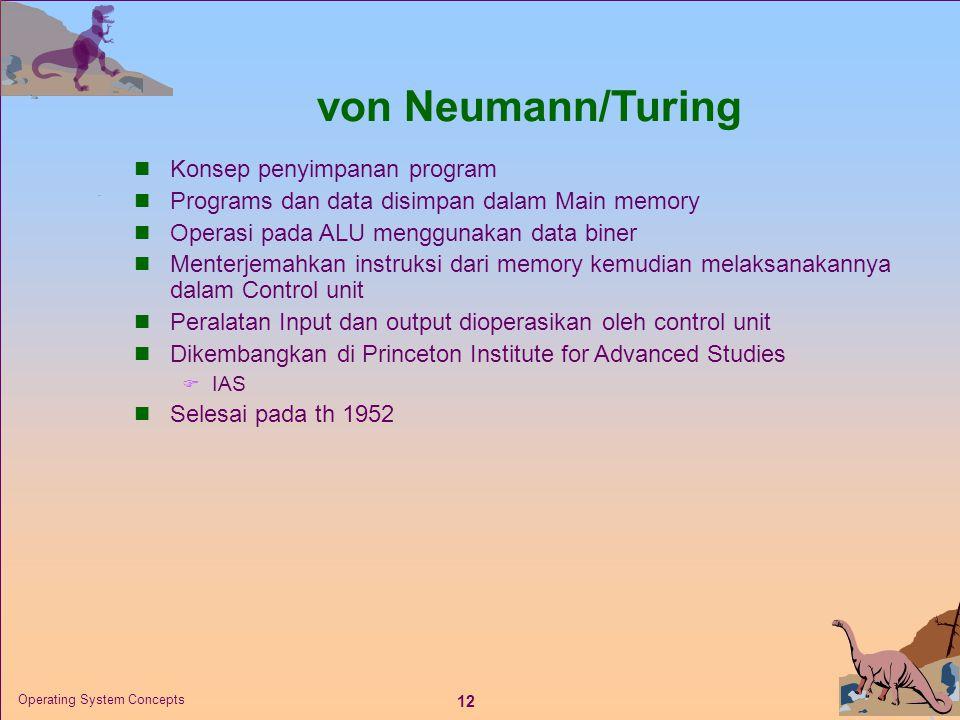 von Neumann/Turing Konsep penyimpanan program