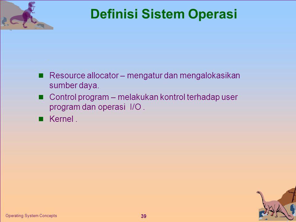 Definisi Sistem Operasi