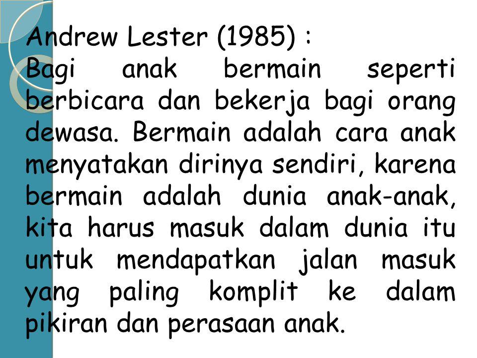 Andrew Lester (1985) :