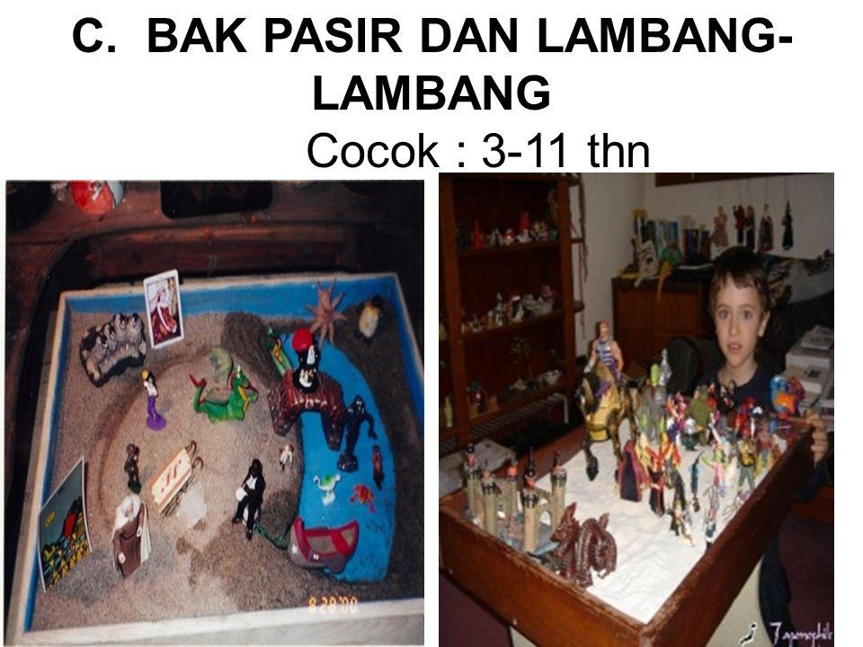 C. BAK PASIR DAN LAMBANG-LAMBANG