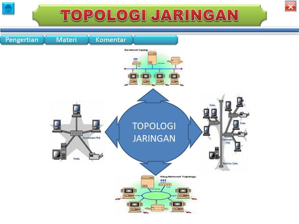 menu TOPOLOGI JARINGAN