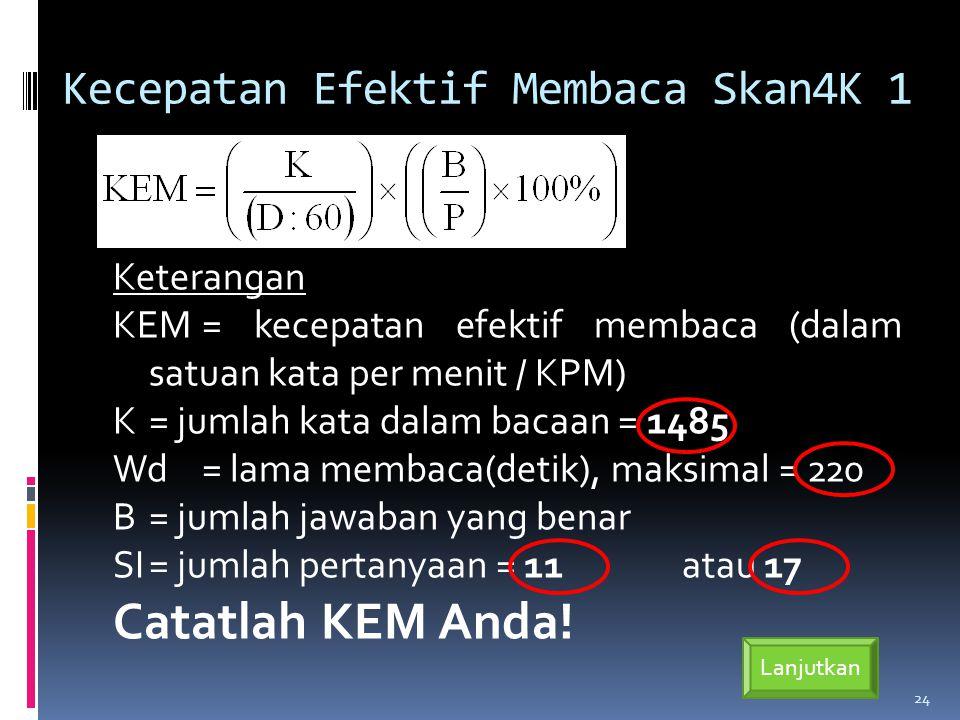 Kecepatan Efektif Membaca Skan4K 1