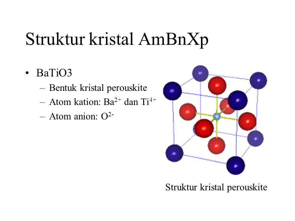 Struktur kristal AmBnXp