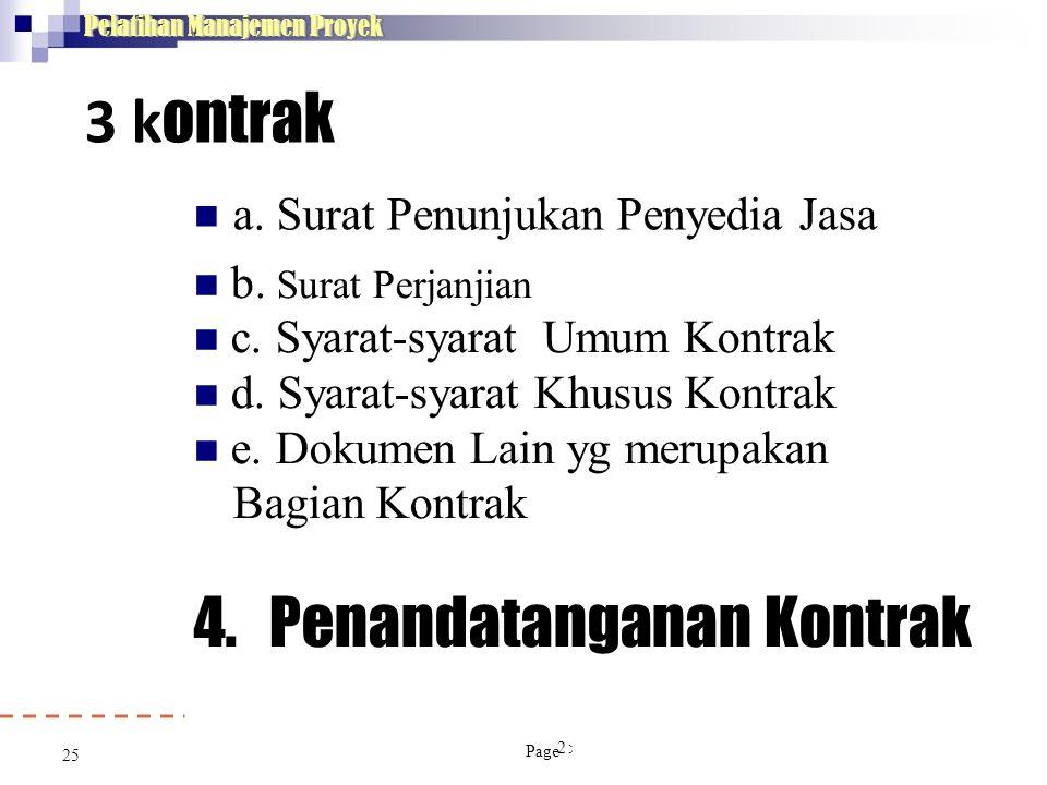 4. Penandatanganan Kontrak