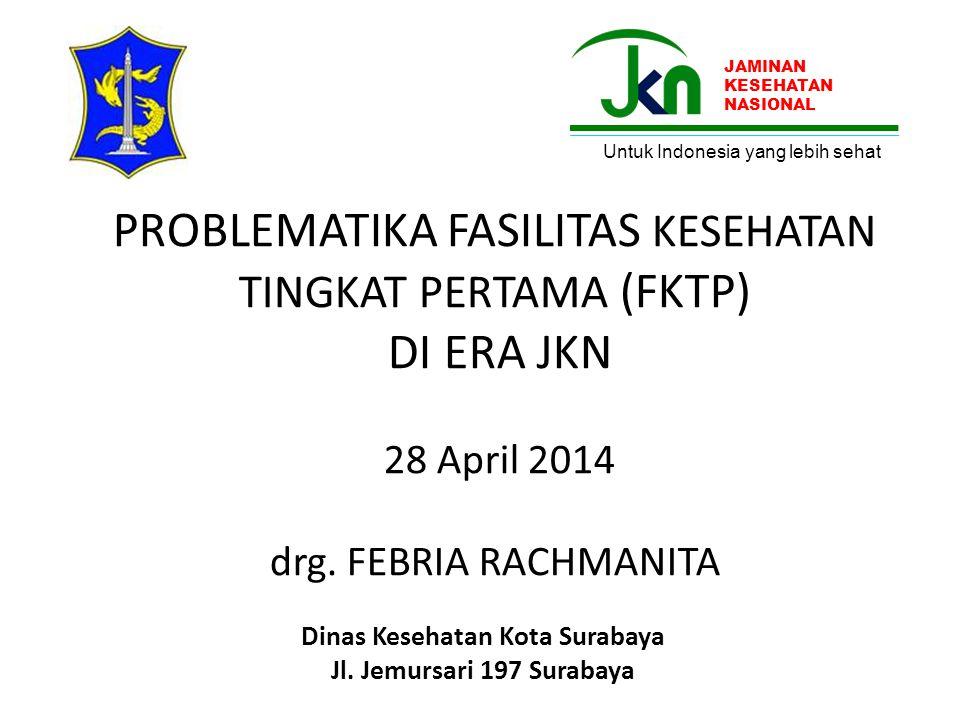 Dinas Kesehatan Kota Surabaya Jl. Jemursari 197 Surabaya