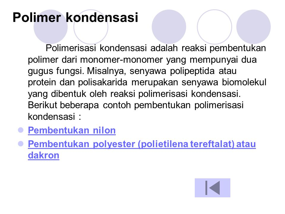 Polimer kondensasi