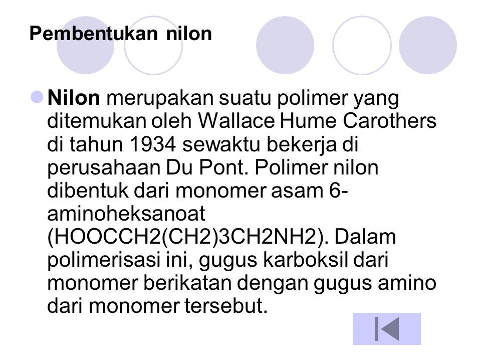 Pembentukan nilon