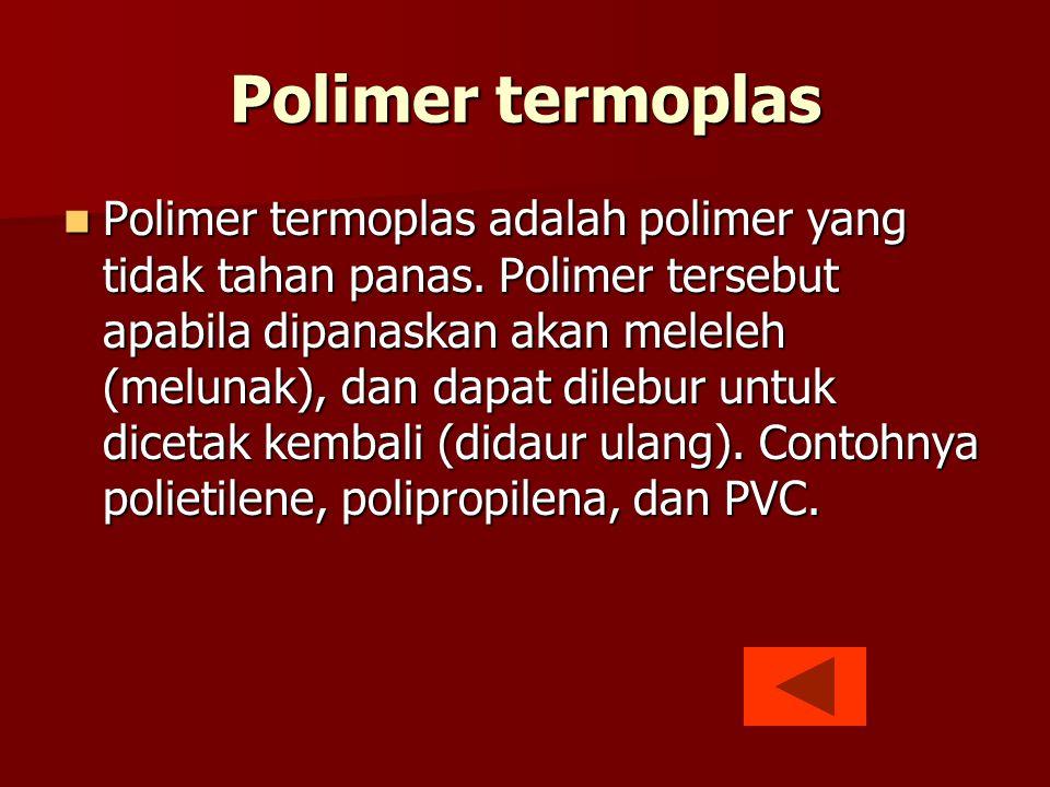 Polimer termoplas