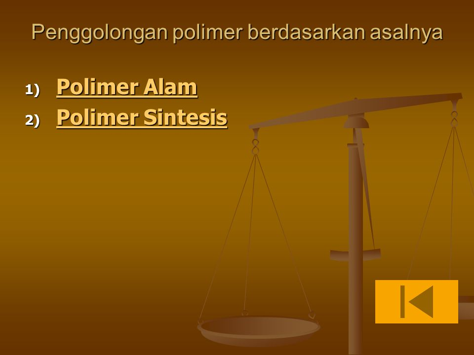 Penggolongan polimer berdasarkan asalnya