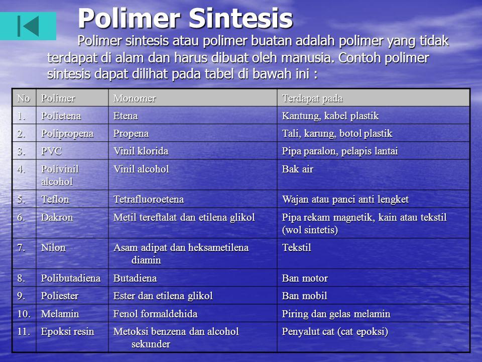 Polimer Sintesis