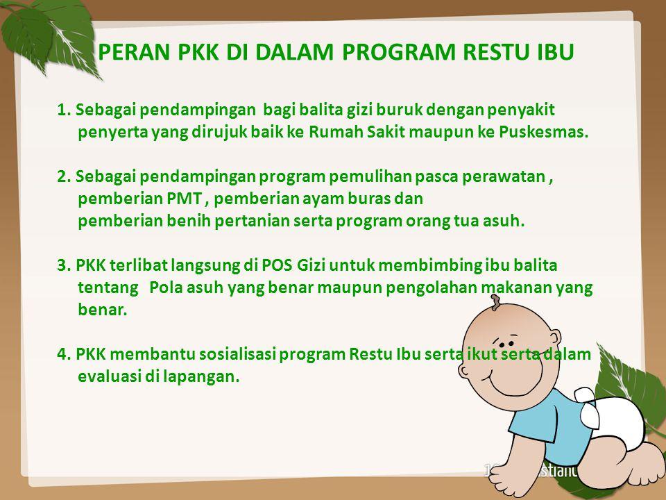 PERAN PKK DI DALAM PROGRAM RESTU IBU 1