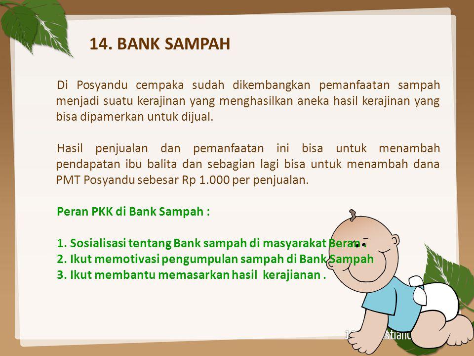 14. BANK SAMPAH