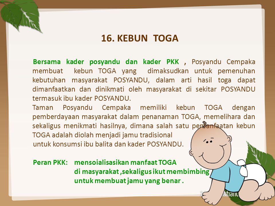 16. KEBUN TOGA