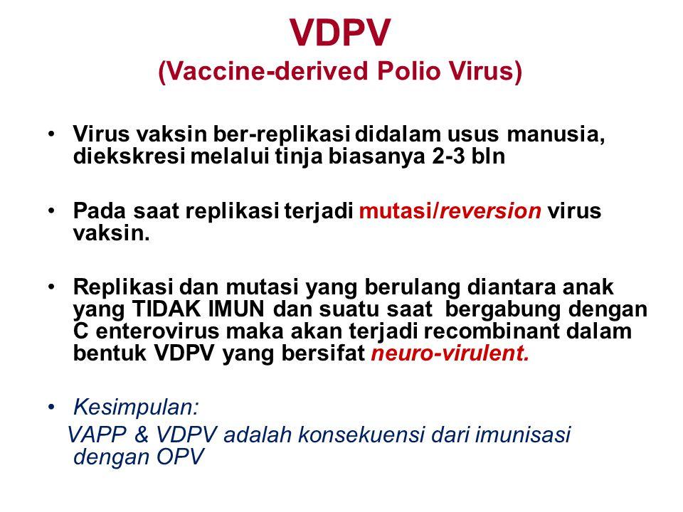 VDPV (Vaccine-derived Polio Virus)