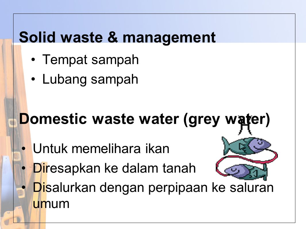 Solid waste & management