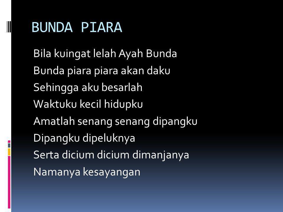 BUNDA PIARA