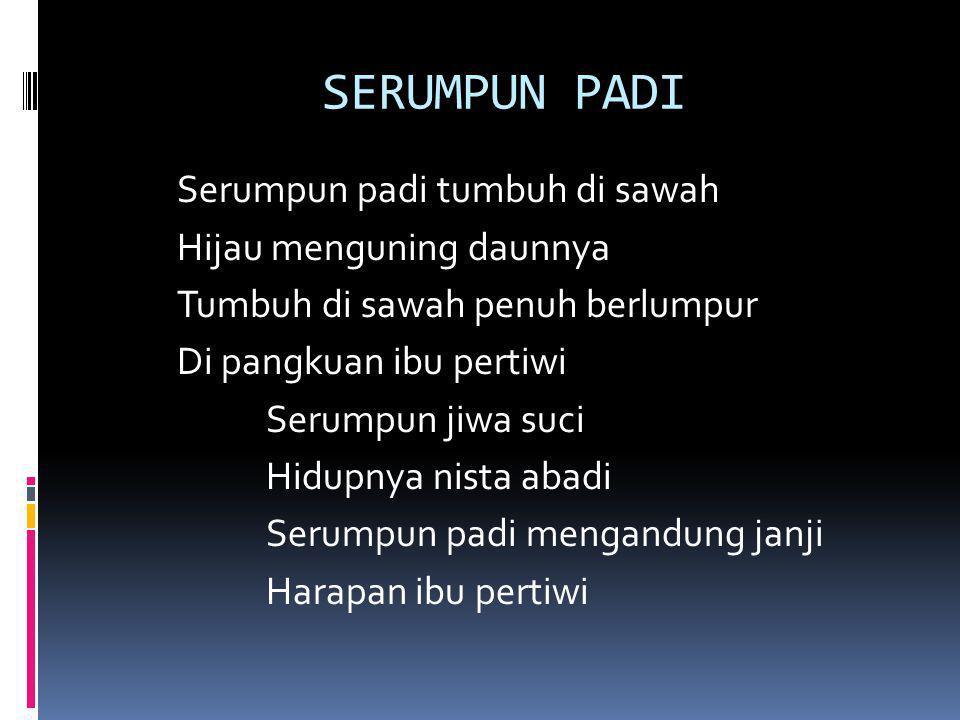 SERUMPUN PADI