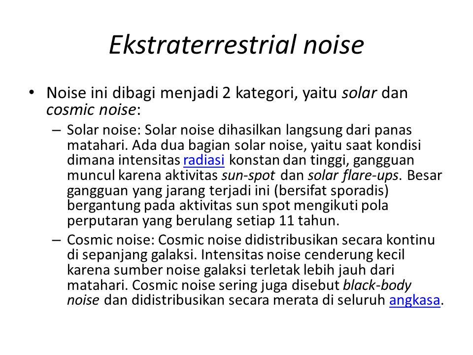 Ekstraterrestrial noise