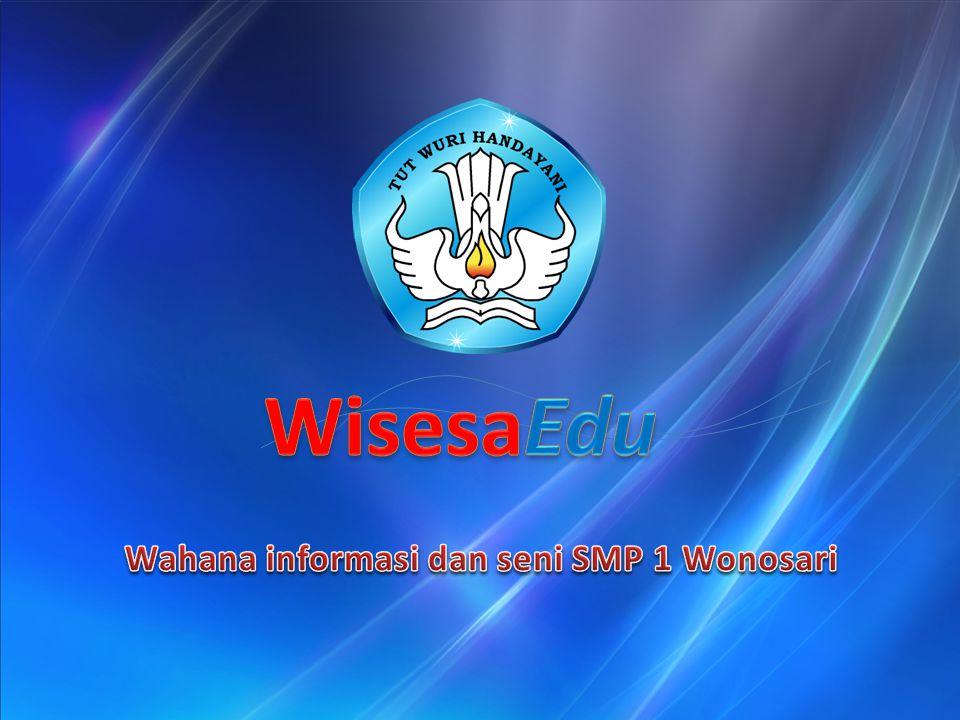 Wahana informasi dan seni SMP 1 Wonosari