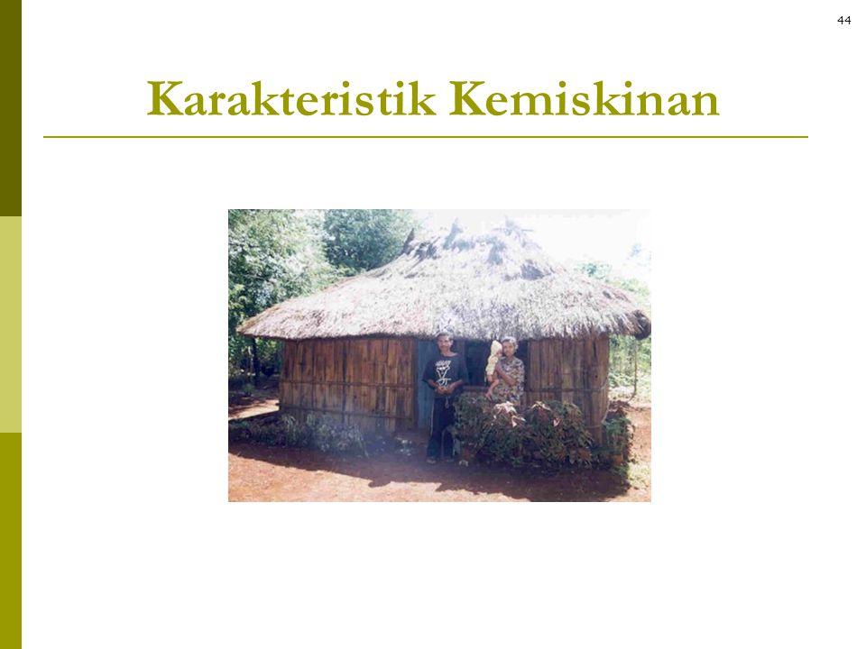 Karakteristik Kemiskinan
