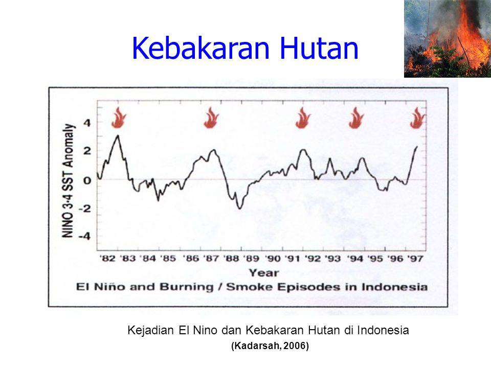 Kejadian El Nino dan Kebakaran Hutan di Indonesia