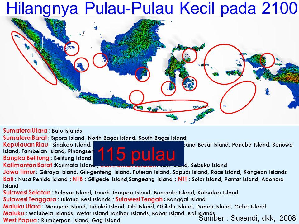 Hilangnya Pulau-Pulau Kecil pada 2100