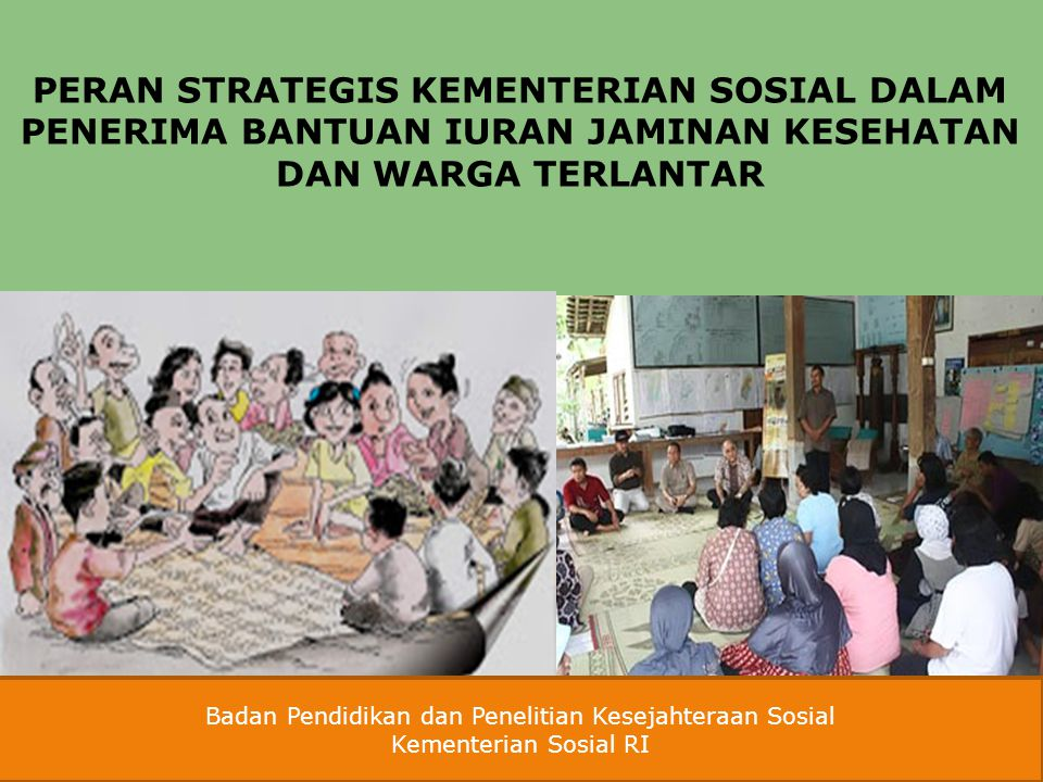 Badan Pendidikan dan Penelitian Kesejahteraan Sosial