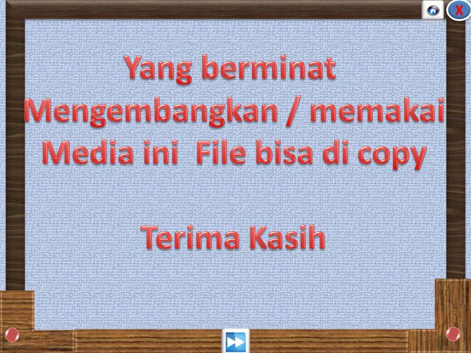 Mengembangkan / memakai Media ini File bisa di copy