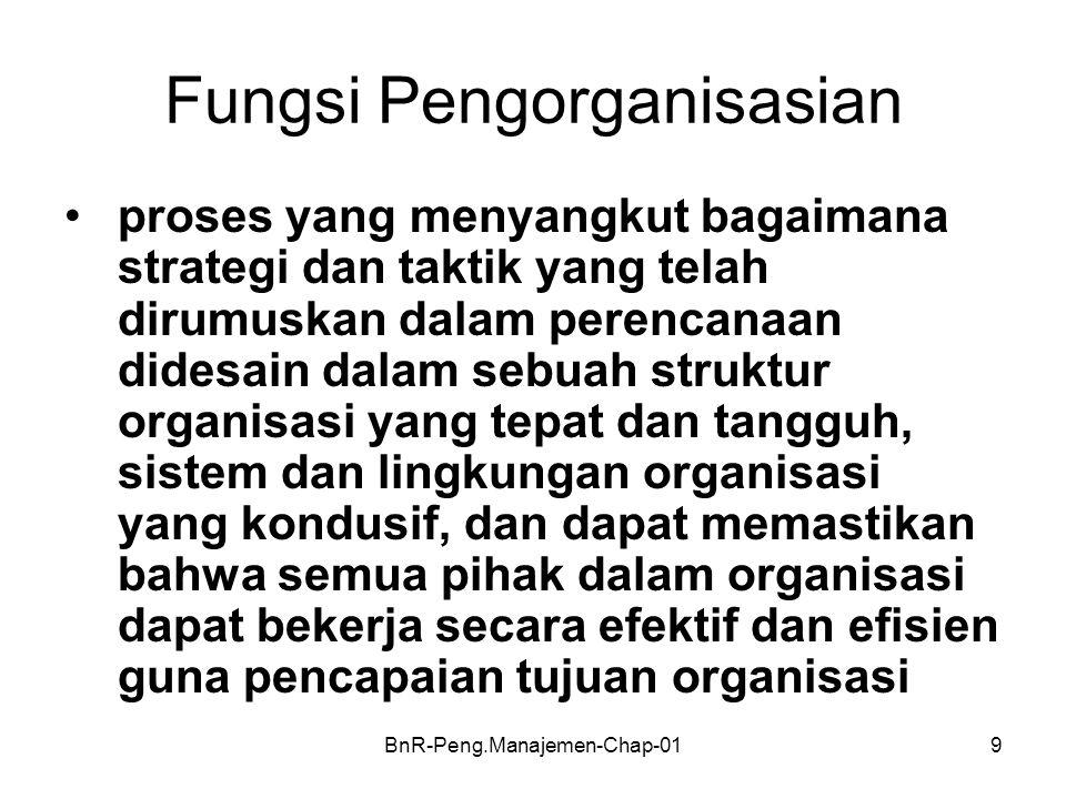 Fungsi Pengorganisasian