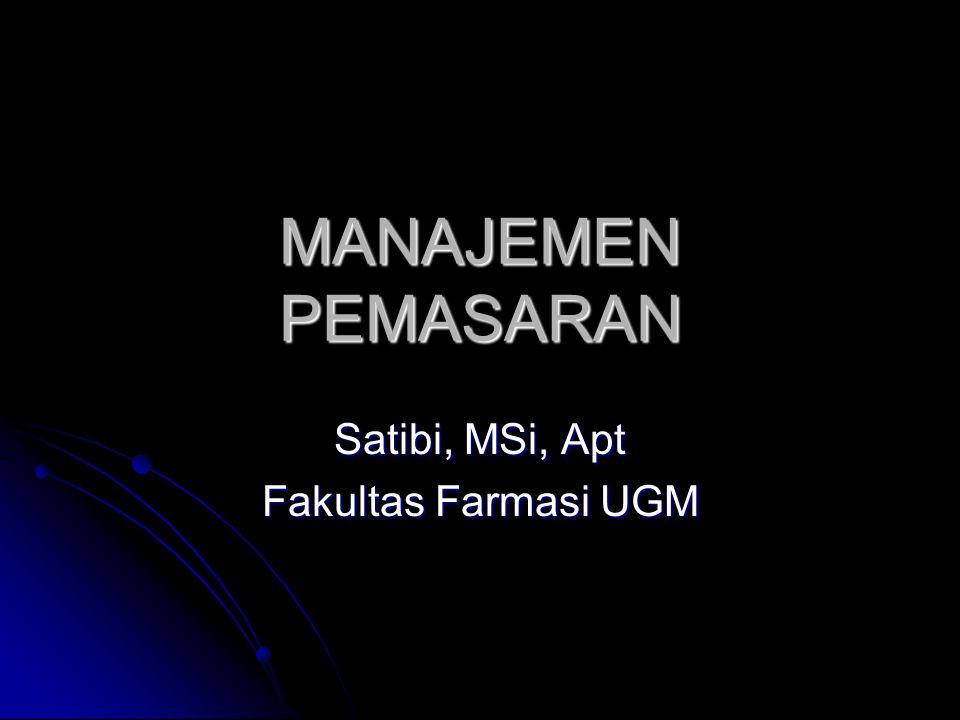 Satibi, MSi, Apt Fakultas Farmasi UGM