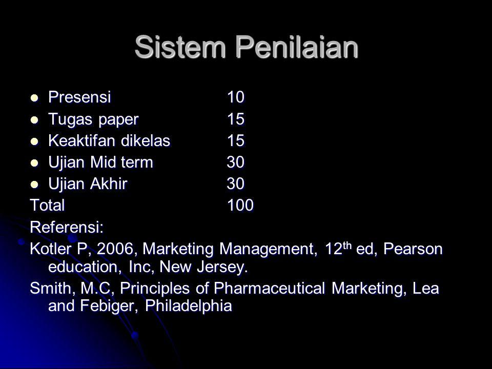 Sistem Penilaian Presensi 10 Tugas paper 15 Keaktifan dikelas 15