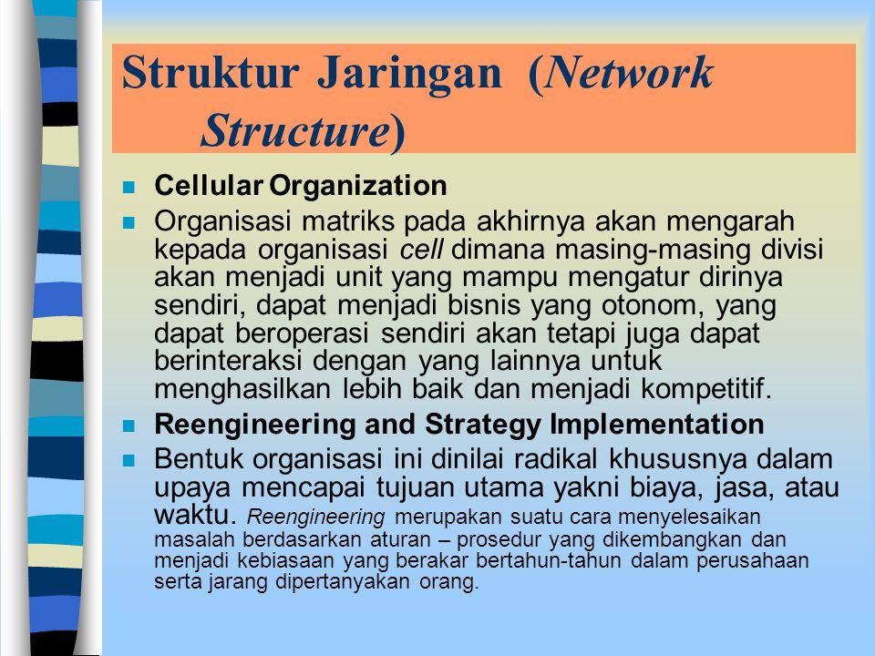 Struktur Jaringan (Network Structure)