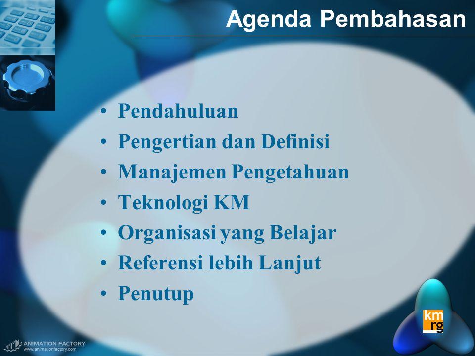 Agenda Pembahasan Pendahuluan Pengertian dan Definisi