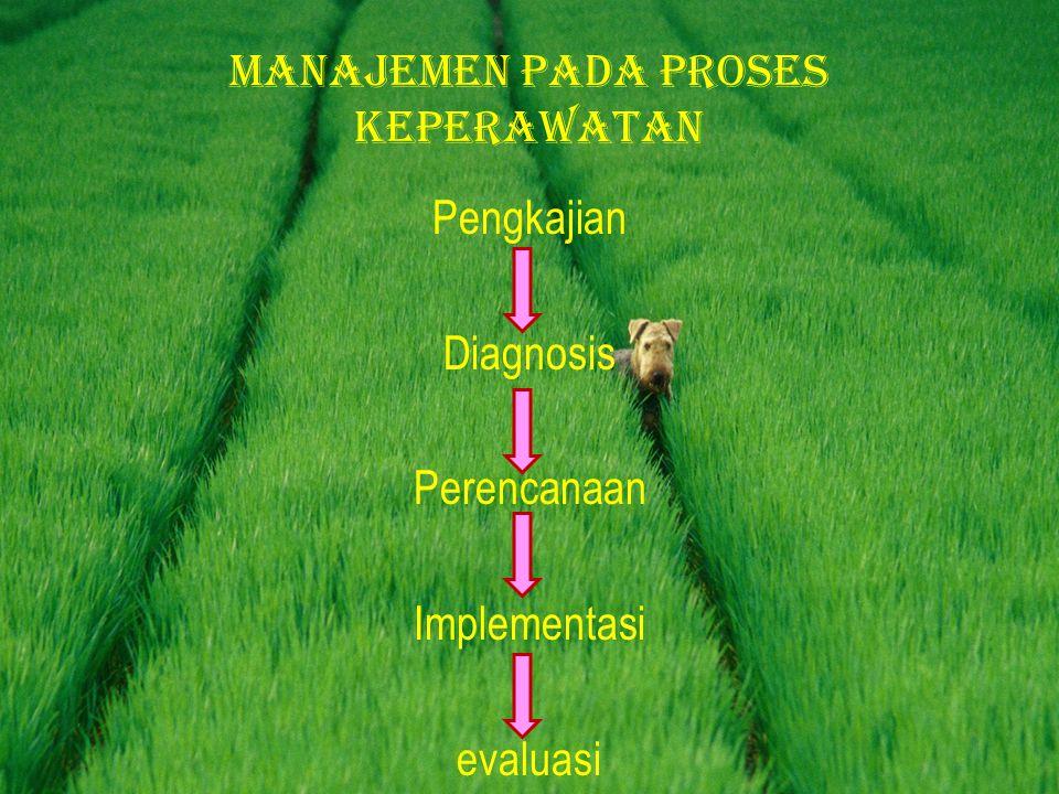 Manajemen pada proses keperawatan
