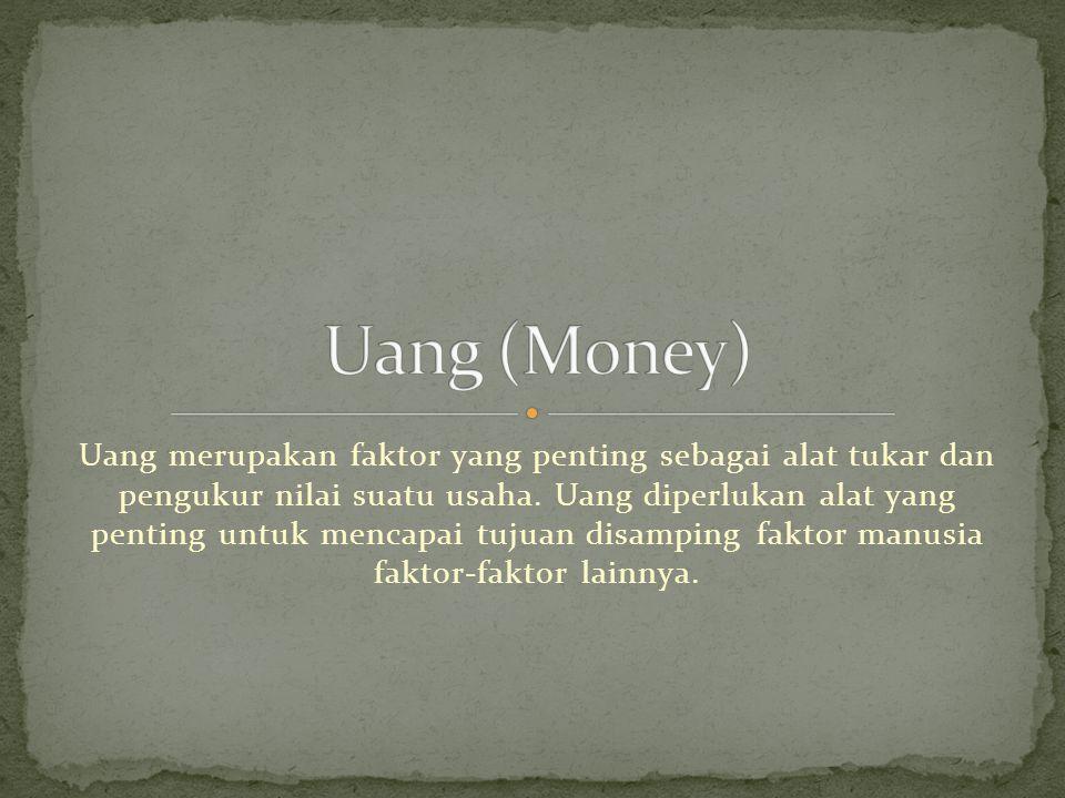 Uang (Money)