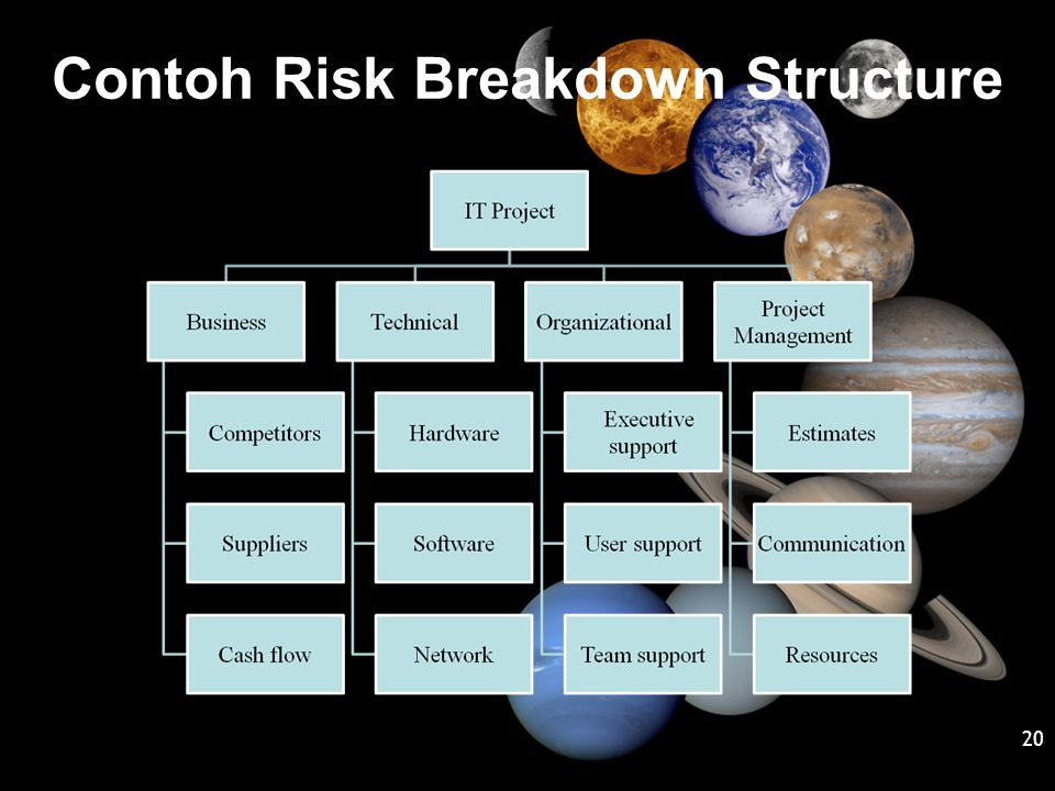 Contoh Risk Breakdown Structure